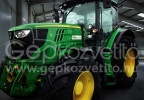 Rükvercben a német traktor eladás - John Deere 6R