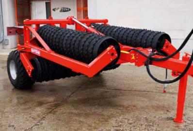 QUIVOGNE Rollfirst hengerek 6,2 m – 8,2 m munkaszélességgel